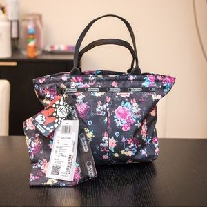 Lesportsac Minnie Mouse Disney Floral Tote